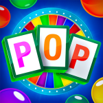 Download Bubble Pop Wheel of Fortune Puzzle Word Shooter 1.3.1 Mod Apk unlimited money