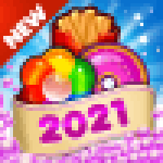 Fast Food 2020 New Match 3 Free Games Without Wifi 2.1.0 Mod Apk unlimited money