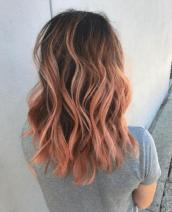 blorange hairr
