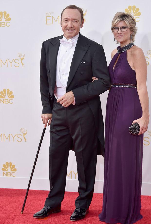 Kevin Spacey e Ashleigh Banfield