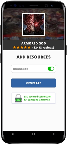 Armored God MOD APK Unlimited Diamonds