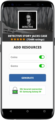 Detective Story Jacks Case MOD APK Unlimited Coins Gems