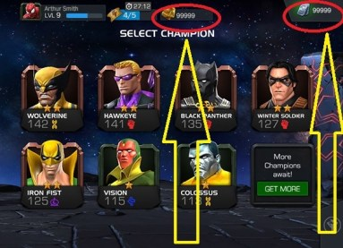 Marvel Contest of Champions Hack Proof