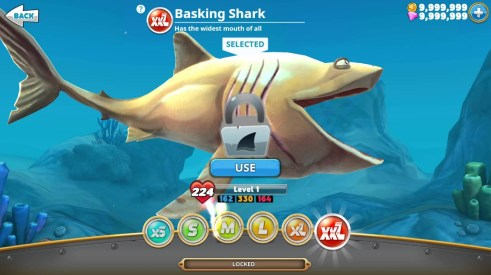 hungry shark world hack proof
