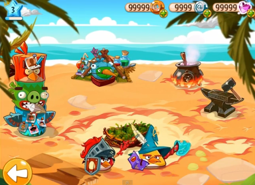angry birds epic hack proof