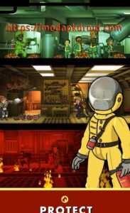 Fallout Shelter Mod Apk Protect the vault