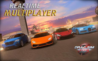 Drag Sim 2018 APK MOD (Unlimited Money) + OBB Data Free Download for Android