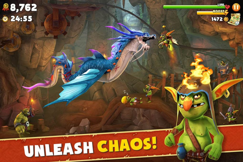 Hungry Dragon MOD APK (Unlimited Money) Free Download hack game