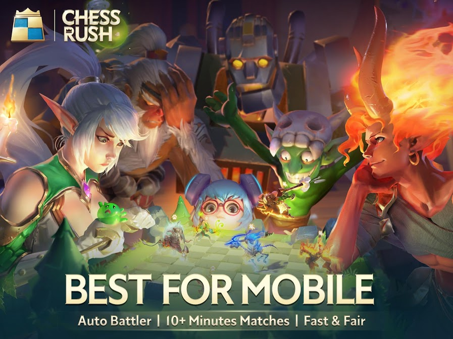 Chess Rush Mobile