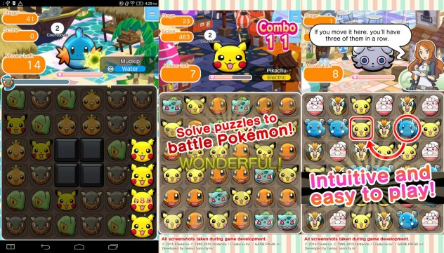 Pokemon Shuffle Hack Android (Unlimited Hearts) - Game MOD APK
