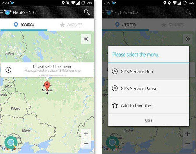 Fly-GPS 4.0.5 apk-for-Pokemon-GO-Hack