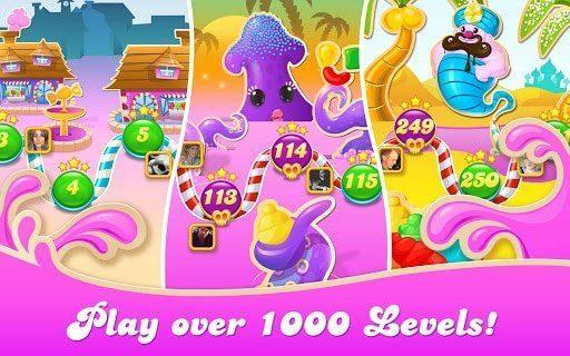 Download Candy Crush Saga Mod Apk-[Unlock Stages]