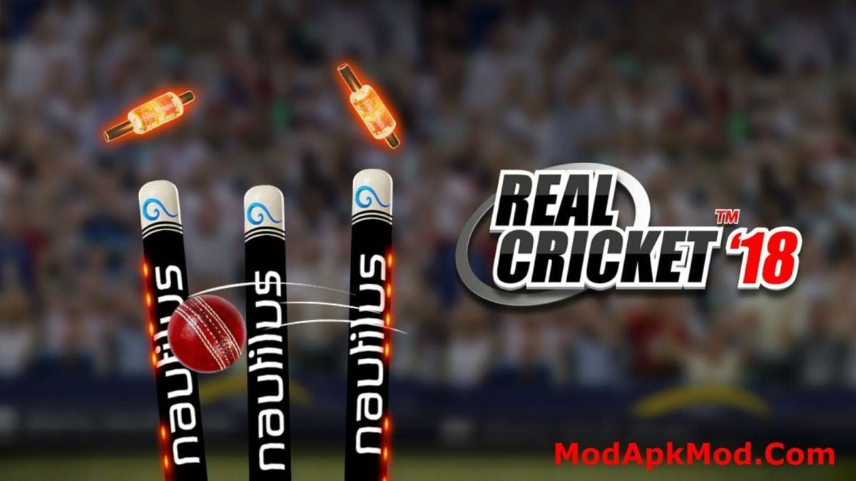 Real cricket 2018 Mod apk unlocked Version download For android