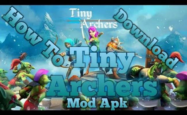 Tiny Archers Mod Apk V1 32 05 0 Unlimited Money For