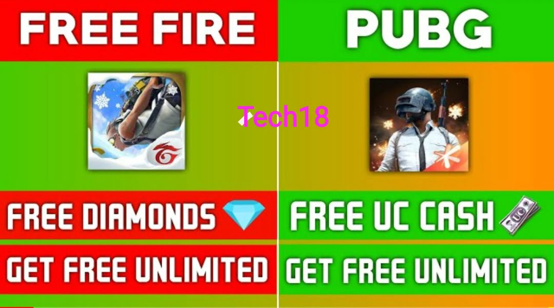How To Earn UC  Cash & Diamonds In PUBG, FREE FIRE|| 100% Working Method