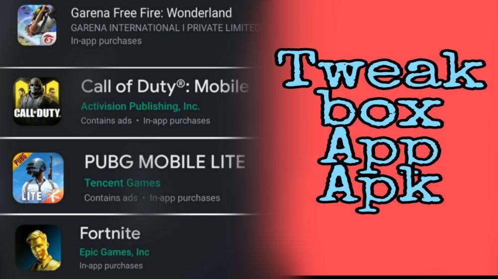 Tweak Box App Apk Download For Android Mobile