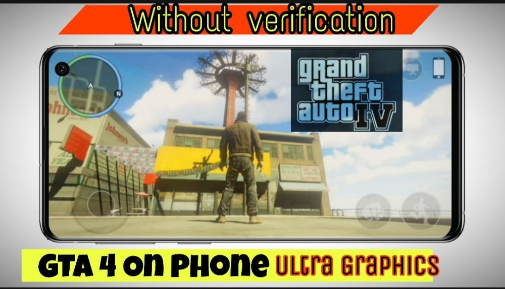 GTA 4 For Mobile / No Verification / Ultra Realistic GRAPHICS