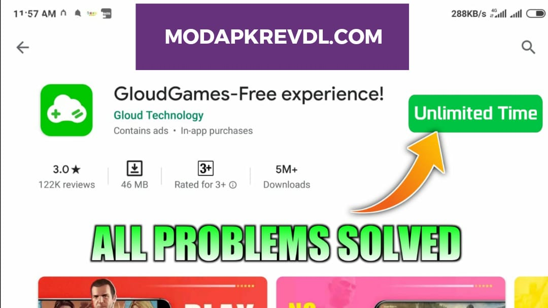 How To Play Gloud Games Unlimited Time {Mod Apk} || PC GAMES ON ANDROID 2020