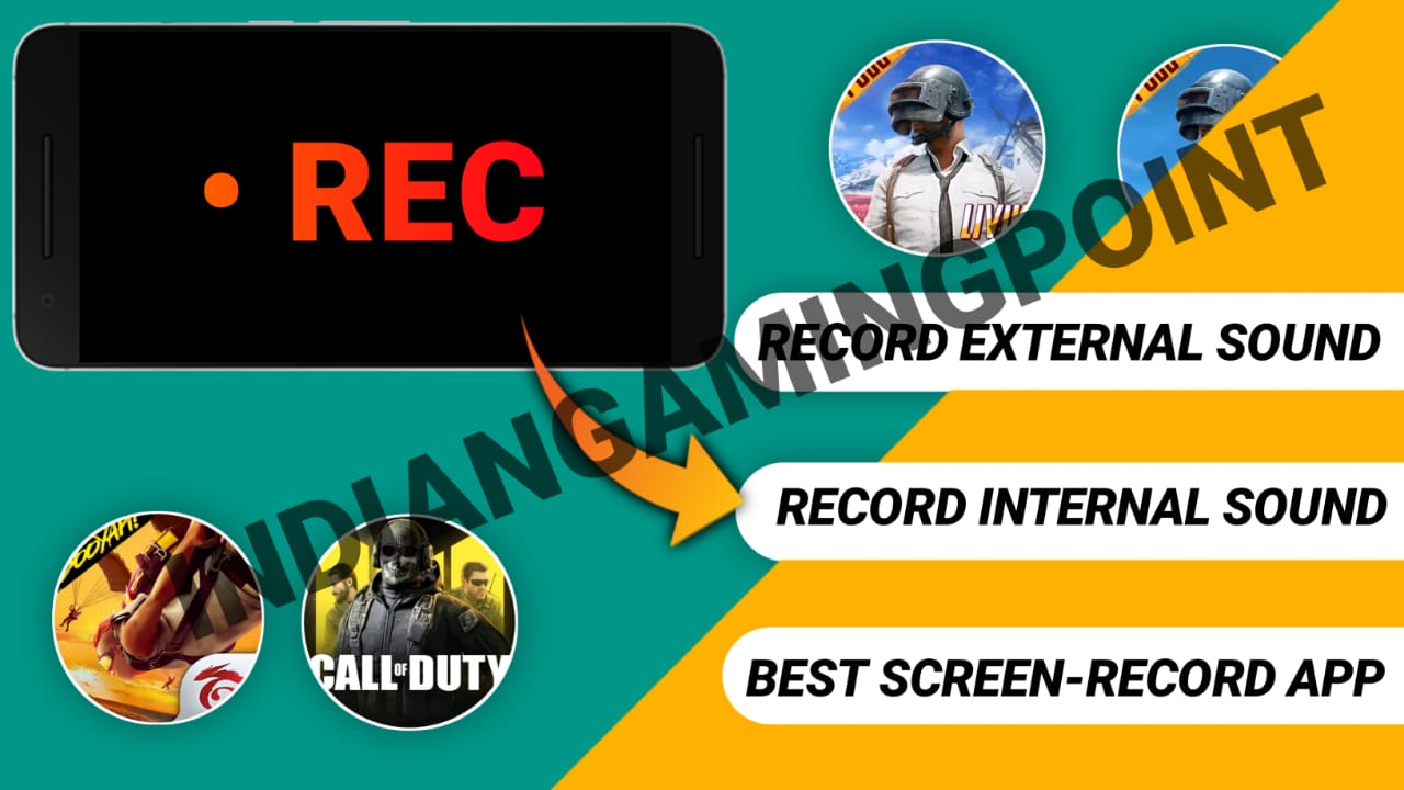 Best Screen Recorder For Game play    With Clear Internal, External Audio