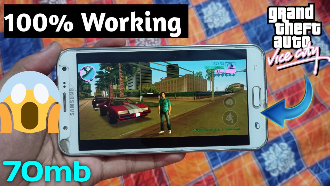How To Download gta vice city Mobile For Free 70 MB Android