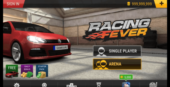 racing fever tips and tricks