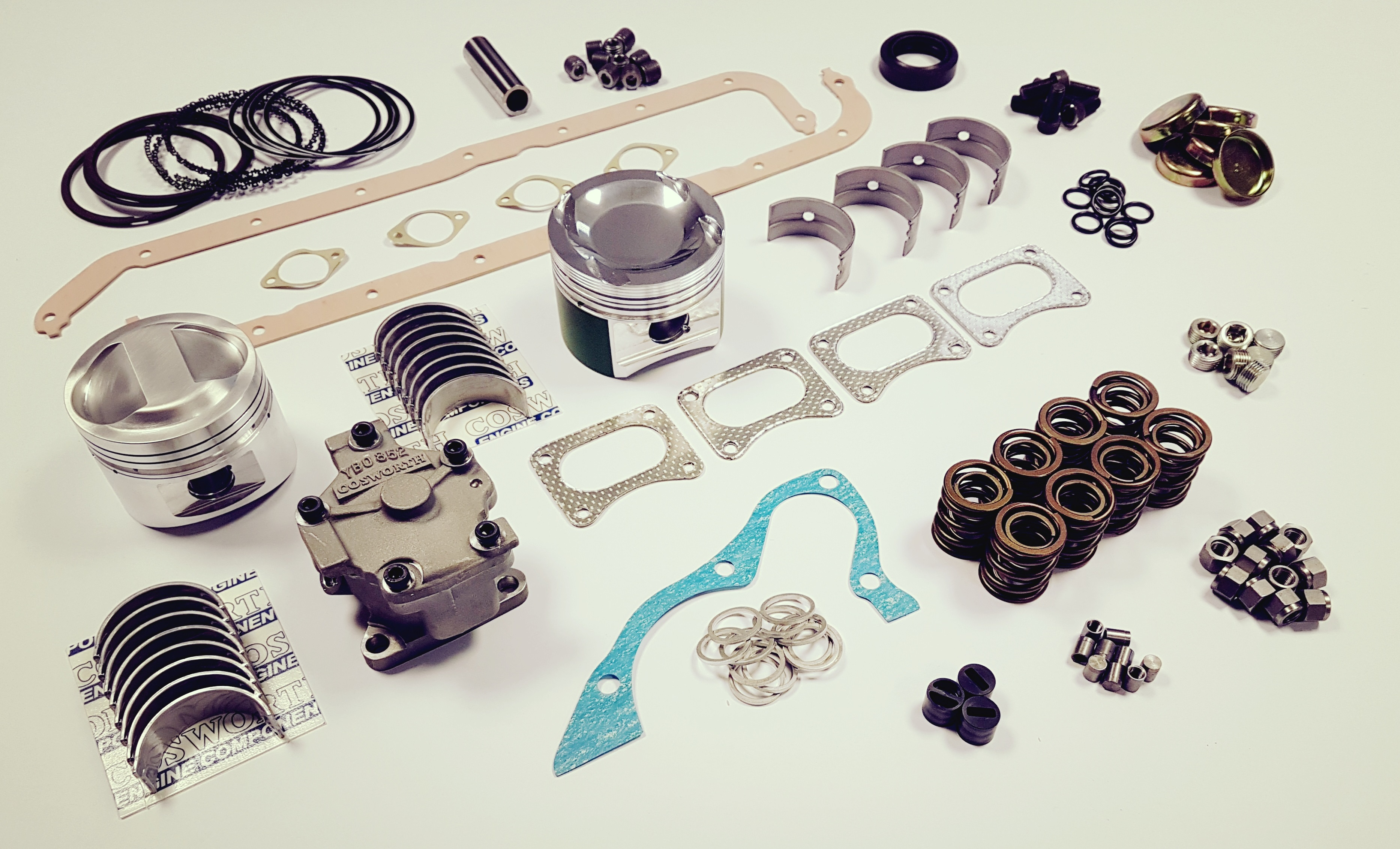 Cosworth Parts Montage