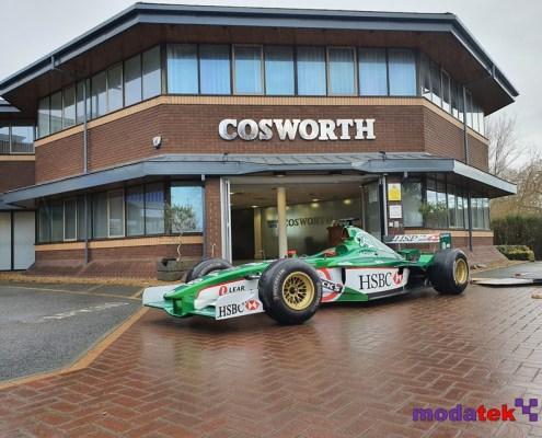 Jaguar Cosworth R2 Formula 1 car