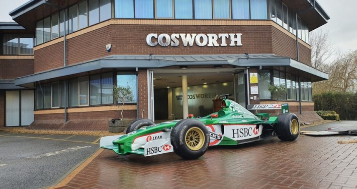 Jaguar Cosworth R2 Formula 1 car