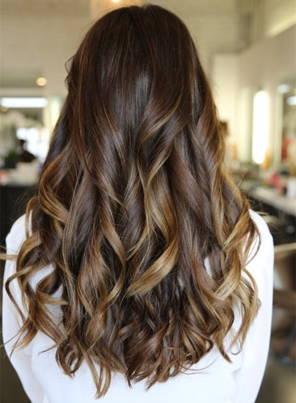 How Color Dark Brown Hair Light Brown