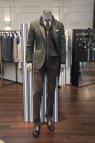 Kiton uomo collezione abbigliamento AI 20182019  Moda