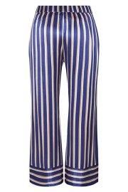 Parte trasera del pantalón a rayas de satén de Nümph