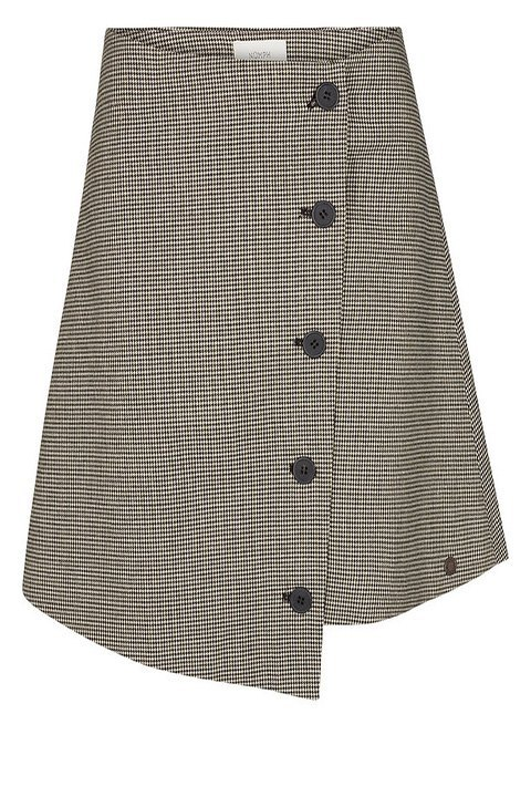 Detalle de la falda.