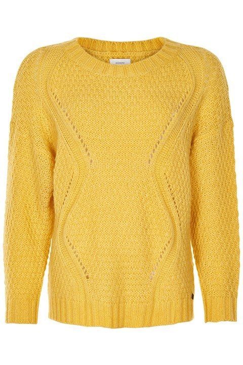 Numattie, es el jersey amarillo de punto de Nümph.