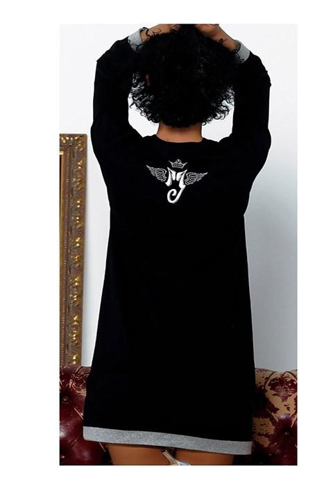 Vestido Michael Jackson visto por la espalda.