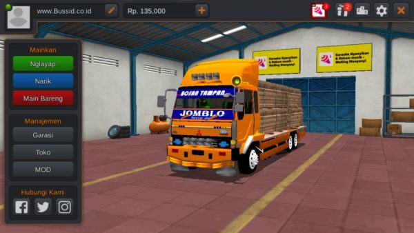Truck Fuso Fighter Angkut Papan
