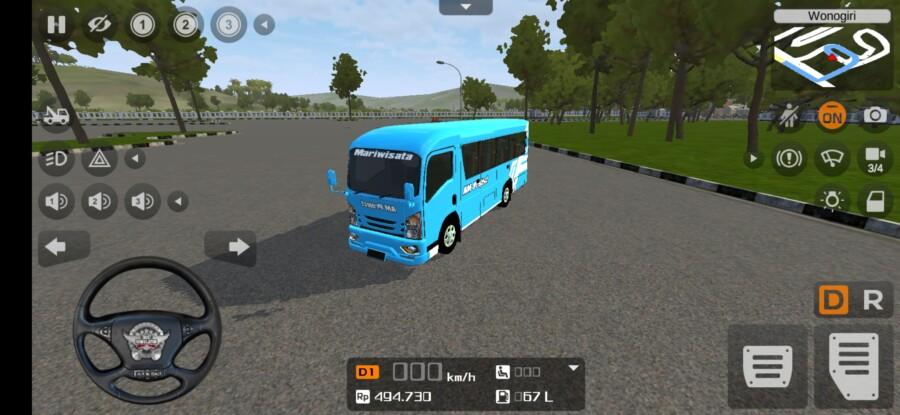 ELF NLR 55 BLX Bamper Jetbus 3