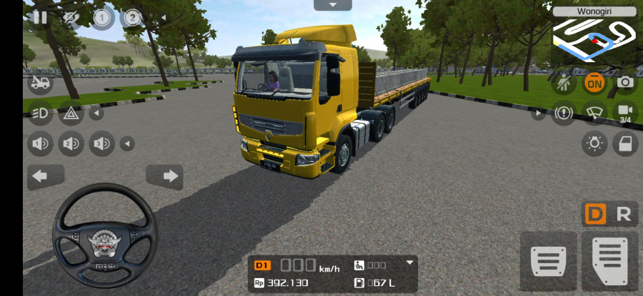 MOD BUSSID Truck Renault Premium 6x4 Beton