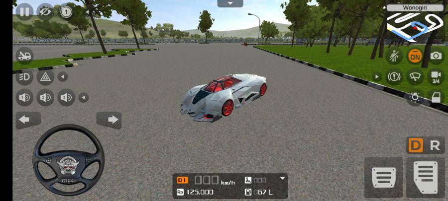 MOD BUSSID Mobil Lamborghini Egoista