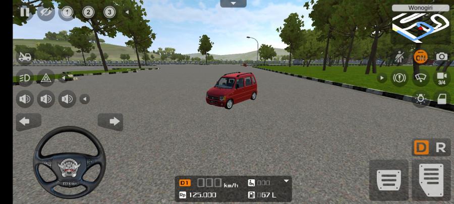 MOD BUSSID Mobil Suzuki Karimun Kotak