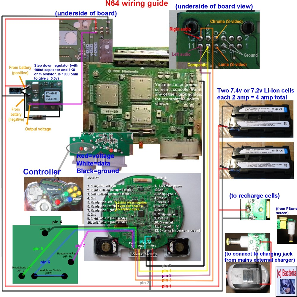 medium resolution of racketboy com u2022 view topic complete n64 wiring diagram to make basic house wiring diagrams n64 wiring diagram