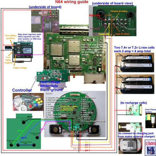 small resolution of racketboy com u2022 view topic complete n64 wiring diagram to make basic house wiring diagrams n64 wiring diagram