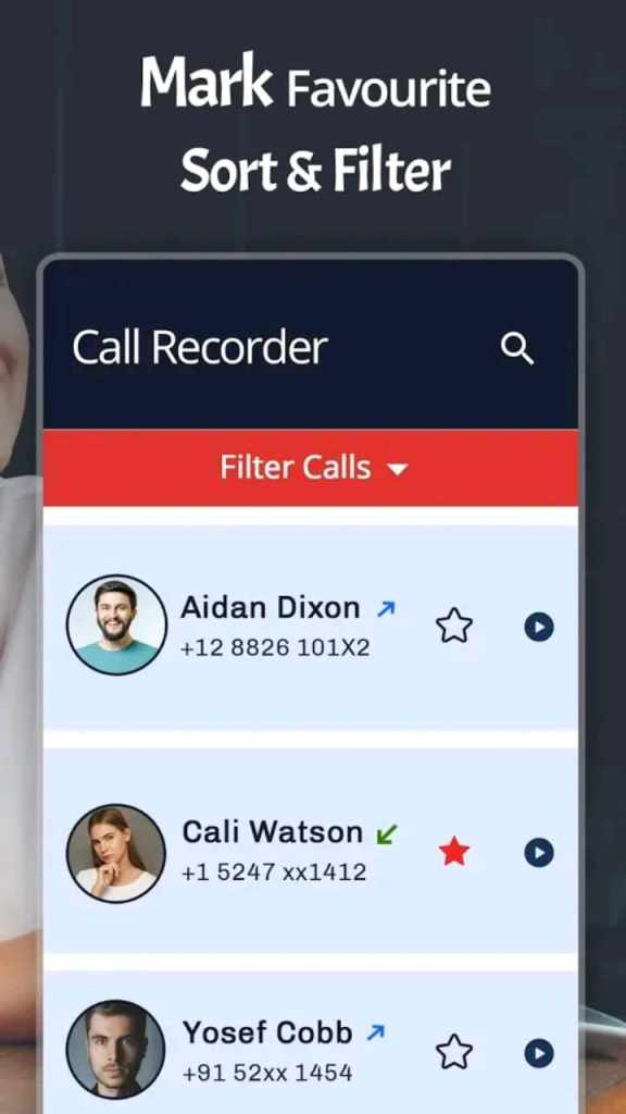 automatic call recorder pro screen4