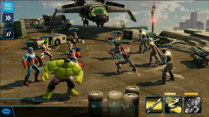 marvel strike force mod apk screen6