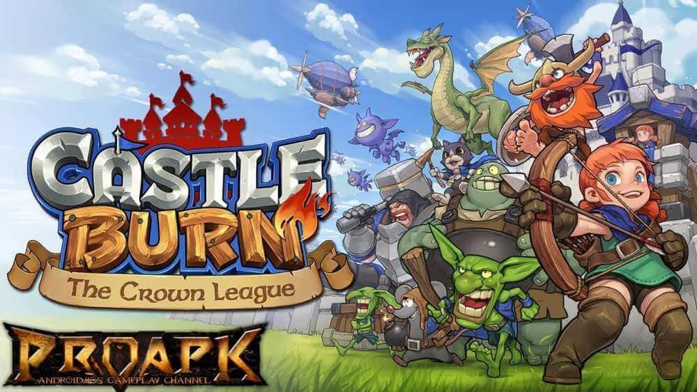 Download Castle Burn APK v1.0.6 Mod Unlimited Gold latest for Android