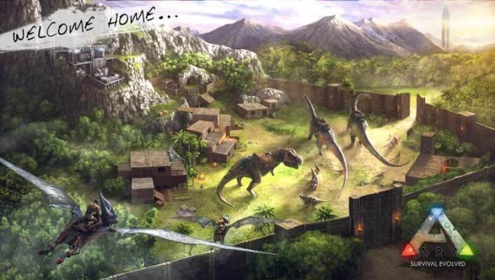 ark: survival evolved apk + obb