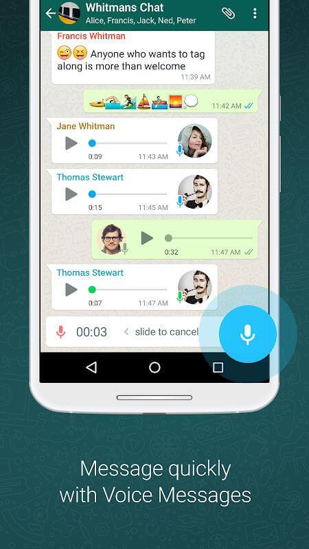 WhatsApp messenger gratuit