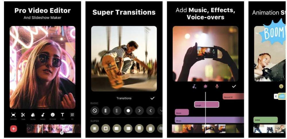 Top 10 des applications de montage vidéo et de création de films pour Android