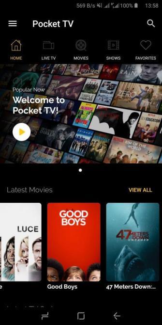 Pocket TV Mod Apk Download