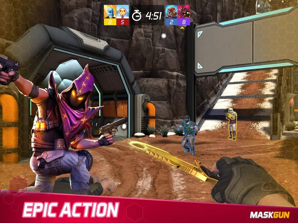 MaskGun Mod Apk Download For Android