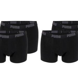 4-pack zwarte boxershorts Puma-M